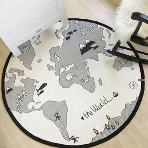 Baby Game Play Crawling Cotton Mat Soft Kids Child Rug Carpet Blanket Playmat