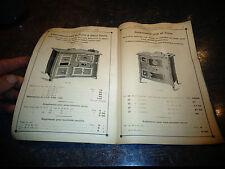 Ancien Catalogue Mottet & Chivolet Lyon 1913 Poèle fonte Ferblanterie Grilloire