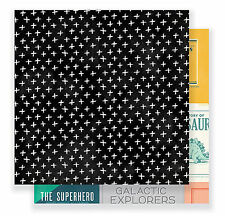COOL KID - BOYS CLUB 12x12 Dbl-Sided (2PC) Scrapbooking Papers BOOKS