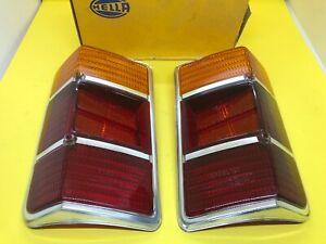 Opel Kadett B Caravan 1966-1972 Taillight Lens Set Rücklichtglas Genuine NOS