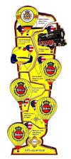 """WARSTEINER BALLON Pin / Pins - ALBUQUERQUE IBF 2004 """"PILSGLAS"""" / 7 PINS!! [3155]"""