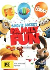 Despicable Me / Dr. Seuss' The Lorax / Hop (DVD, 2013, 3-Disc Set)