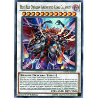 YUGIOH Hot Red Dragon Archfiend King Calamity Deck Complete 40 - Cards + Extra