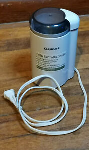 Cuisinart Coffee Bar Coffee Grinder #DCG-20C Never used works great