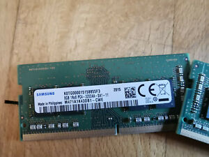 16 GB (2x8 GB) RAM Samsung DDR4 SO-DIMM 3200 MHz 260 PinM471A1K43DB1-CWE Dell