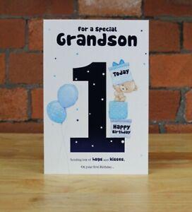 Birthday Card, Grandson