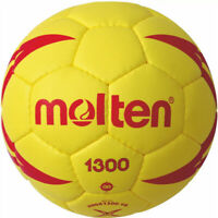 Molten Methodik Kinder Handball Synthetik Leder Gelb H00X1300-YR Gr. 0