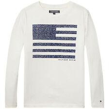 Tommy Hilfiger Shirt Herringbone Flag Gr. 86,92,98,104,116,128,140,152,164 NEU