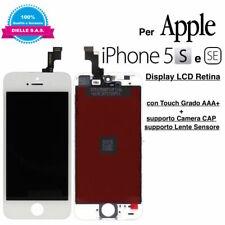 Display LCD Retina Touch Screen per Apple iPhone 5S e SE Bianco TIANMA Originale