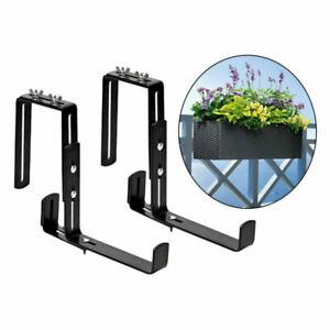 1 Pair Mounting Plant Hanger Wall Hooks Decor Flower Box Holder for Lanterns