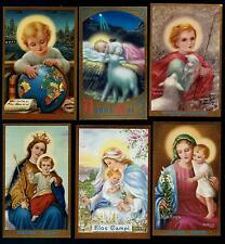 Qc  Holy Cards  TWELVE Cards of M.M. Nealis MINT VINTAGE OLD  (Around 1940-45)
