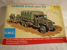 1/35 Heller FF Army Deuce & a Half GMC Truck w/ 10 Troops & Equipment # 809 1110