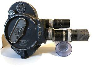 Bell & Howell Filmo 70 16mm cine camera, Cooke Special  J.H Dallmeyer 3.5