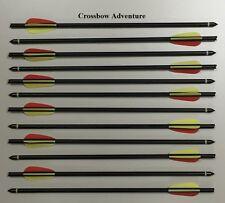 12 Stück Armbrust Bolzen / Pfeile 20'' Aluminium schwarz PoeLang
