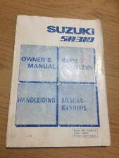 RARE SUZUKI SA310 OWNERS INSTRUCTION MANUAL HANDBOOK CLASSIC SA 310