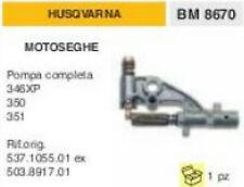 POMPA OLIO COMPLETA MOTOSEGA HUSQVARNA 346XP 346 XP 350 351 537.1055.01