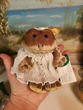 Angelique RUSS Frog Angel Victorian Grace Plush NWT VTG Collectible #2047 NEW