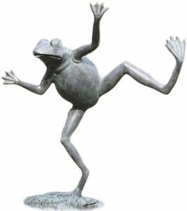 SPI Home 32502 Dancing Frog Spitter Sculpture