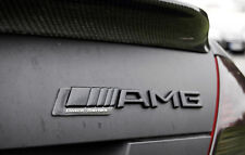 AMG Badge Emblema un B ML M SPORT C CL CLK SLK S SL NERO ULTIMATE pacchetto Series