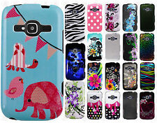 For ZTE Concord II 2 Z730 HARD Protector Case Phone Cover + Screen Protector