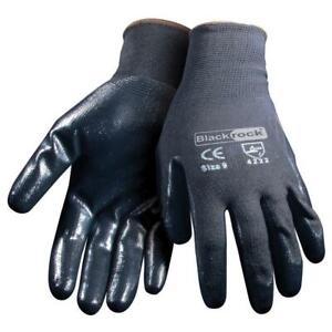 BlackRock 84302 Lightweight Super Grip Nitrile Gloves  (Pair)
