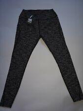 MYPROTEIN Power Leggings - Space Dye - Large - Black, White & Grey - RRP £34 (4)