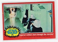 1977 Star Wars Series 2 red Single Card #105 EX+ straight from a wax Pack