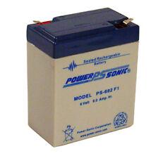 Long 3FM8, 6 volt rechargeable replacement batteries