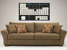 """THE BEER PERIODIC TABLE MOSAIC 35""""X25"""" INCH WALL POSTER FUN STUDENTS"""