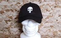 The Punisher Skull Embroidered Logo Baseball Cap DEVGRU Ball Cap Navy SEAL