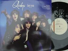 Quireboys ORIG UK PS 12 Hey you NM '89 With Poster Parlophone Hair Metal Rock