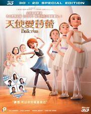"Eric Summer ""Ballerina"" Leap! CG Animation 2D + 3D  Region A Blu-Ray"