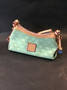 Dooney and Bourke mini East west swag bag