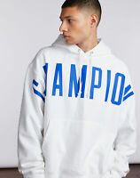 Champion Life Men's Reverse Weave Pullover Hoodie, Oversized Arch Logo