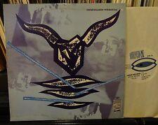 STEPHEN MALLINDER  Pow Wow Plus Doublevision 1985  DVR16 plays NM