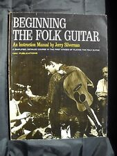 Noten - Beginning the Folk Guitar - Gitarre - Lehrbuch Notenheft