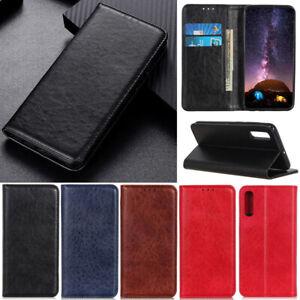 Luxury Retro Wallet Leather Flip Case Cover For Sony Xperia 1 II 10 II 5 II L4