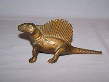 Srg bronze brass metal Dimetrodon dinosaur Large version vintage Rare! 1947