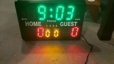 GameCraft sports Tabletop Scoreboard Indoor Scoring Clock Timer volleyball