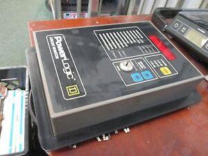 Square D PowerLogic Circuit Monitor 3020 CM150X1 120VAC 0.5A 50/60Hz Used