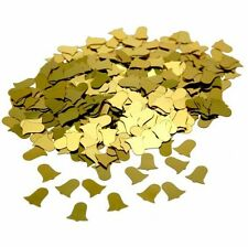 CSC Imports GOLD WEDDING BELLS Table Confetti 14 Gram Party Decoration Sprinkles