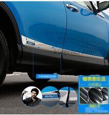 fit Toyota for RAV4 RAV4 4 2013-2017 new door sills Side Molding Trim plate bar