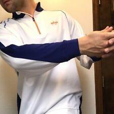 Footjoy Performance Australia Zip-up Golf Sweater Thermal and Wind proof L