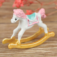 1Pc 1:12 Dollhouse Miniature Cute Trojan Horse Doll House Accessories D WDA