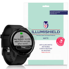 3x iLLumiShield Matte Screen Protector Anti-Glare for Garmin Vivoactive 3 Music