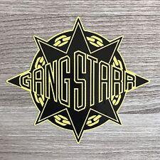 "Gang Starr Guru Dj Premier 5"" Wide Vinyl Sticker - BOGO"