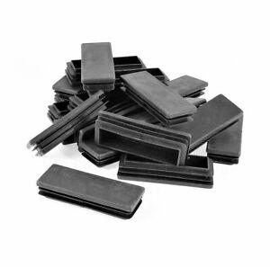 30x50MM - Rectangular Plastic End Caps Insert Tubing - 10PCS/50PCS