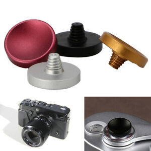 Metal Concave Soft Shutter Release Button For Fuji X20 Leica M7 M9 SLR Cameras