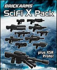 BrickArms SciFi X-Pack plus XSR Prototype Weapons for LEGO Minifigures SEALED