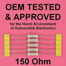 NEW Power Resistor 150 ohm 2W 5% Axial Lead, OEM Approved for Harsh Environments